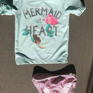 Carter's toddler swimwear